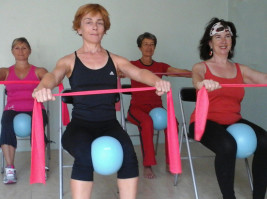 Montpellierforme Gym Pilates sur chaise